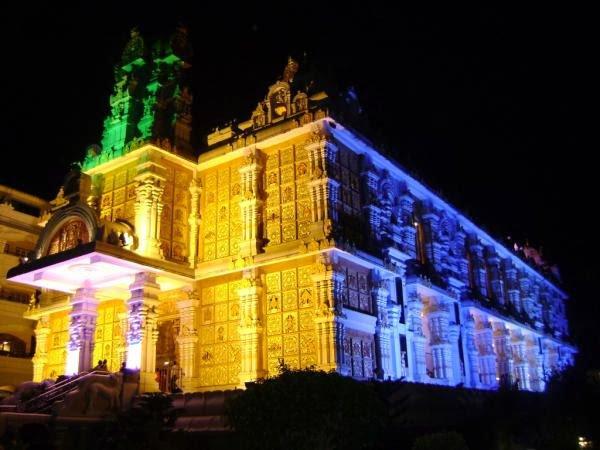 Isckon Temple Tirupati