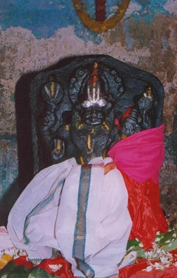 Lord Nrsimhadeva at Prahlada Mettu