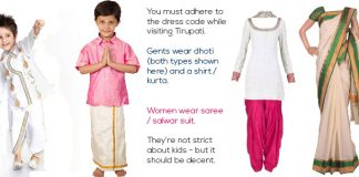 Tirumala Dress Code