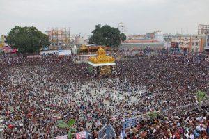 Panchami Theertham at Thiruchanur