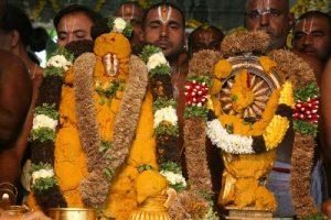 goddess Padmavathi devi on panchami theertham day