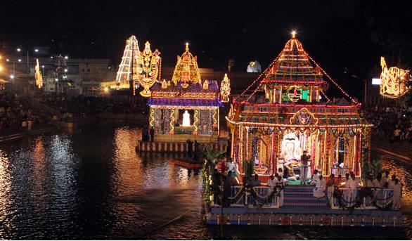 Float Festival in Tirumala