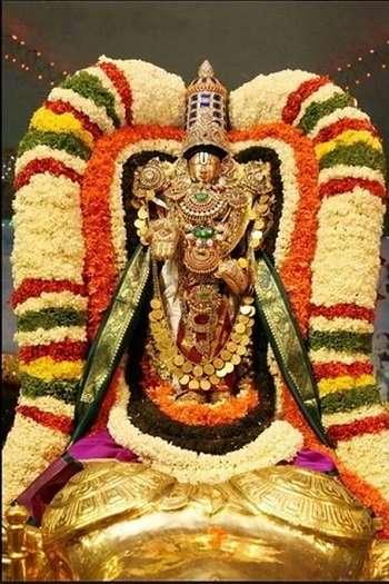 Offerings To Lord Srinivasa
